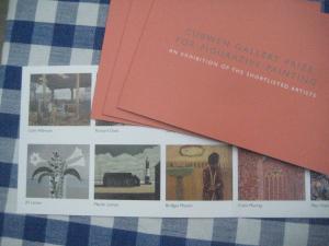 Invitation to Curwen Gallery